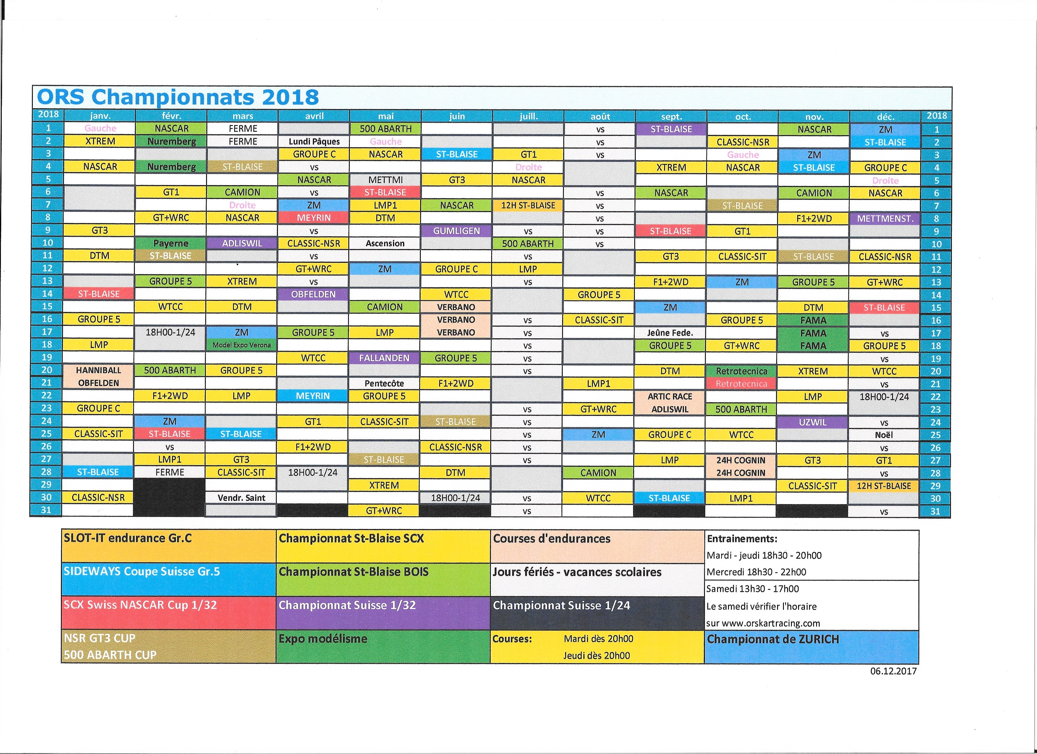 Image Calendrier 2018